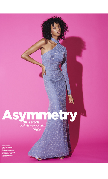 La Femme Style 24105 As Seen In Seventeen Prom Edition 2017, Pg 44