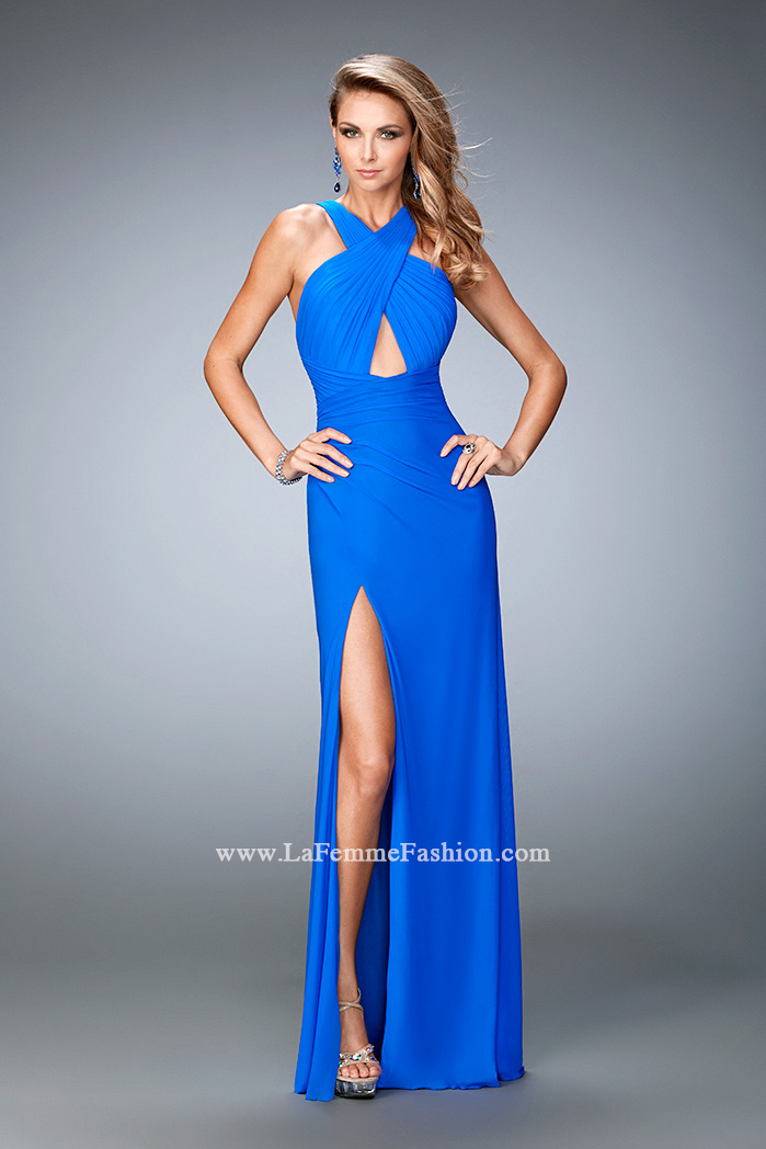 Electric Blue Gowns