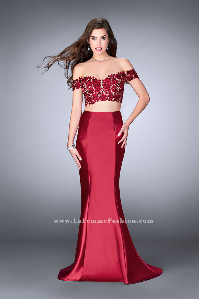 Off The Shoulder Prom Dresses