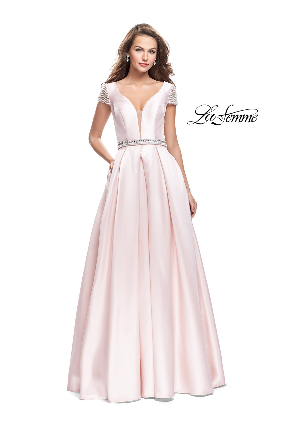 Prom Dresses with Pearl Beading