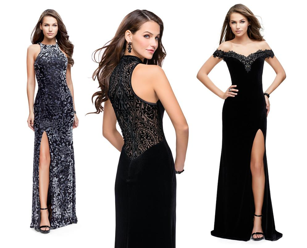 Prom dresses in a wide range of colors and styles