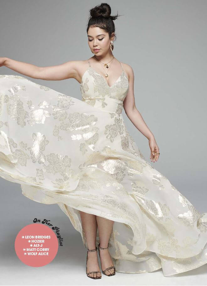 Prom Dress in Seventeen Magazine, La Femme Style 24547