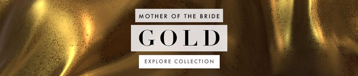 Picture of: Gold Mother-of-the-Bride Dresses and Mother-of-the-Groom-Gowns