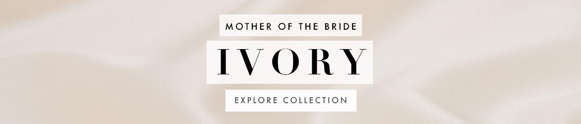 Picture of: Ivory Mother of the Bride Dresses