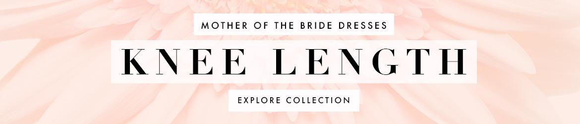 Picture of: Knee Length Mother of the Bride Dresses