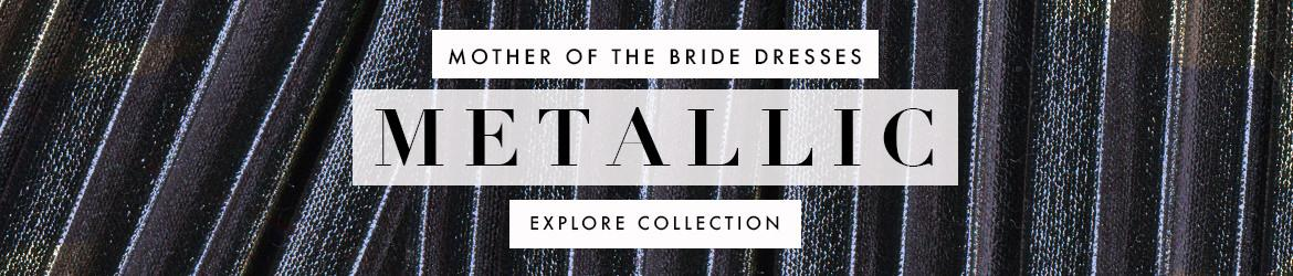 Picture of: Metallic Mother of the Bride Dresses