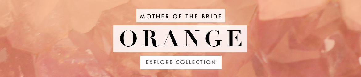 Picture of: Orange Mother of the Bride Dresses