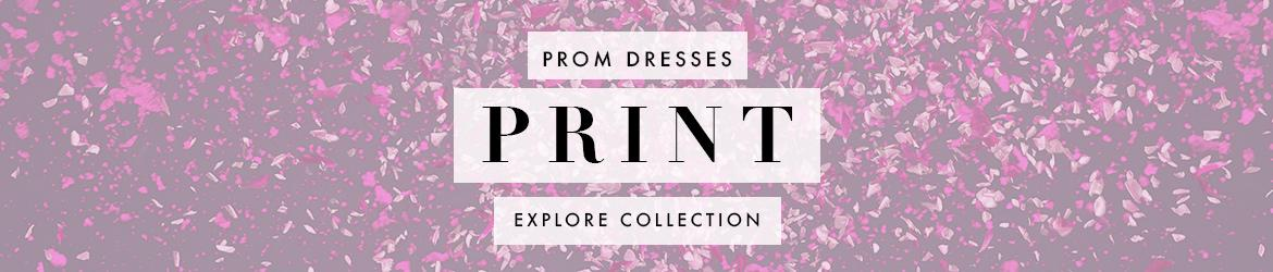 Picture of: Print and Floral Prom Dresses