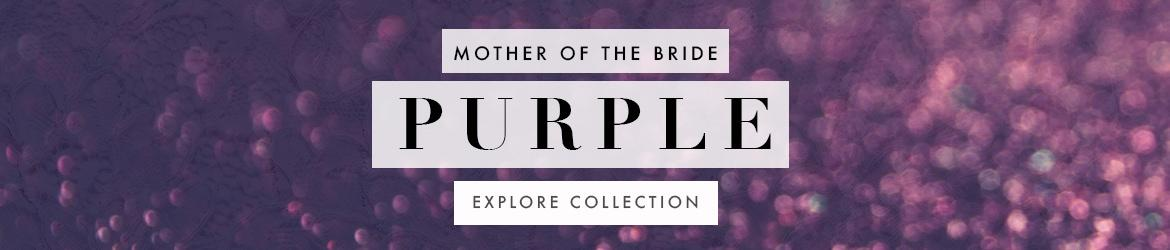 Picture of: Purple Mother of the Bride Dresses