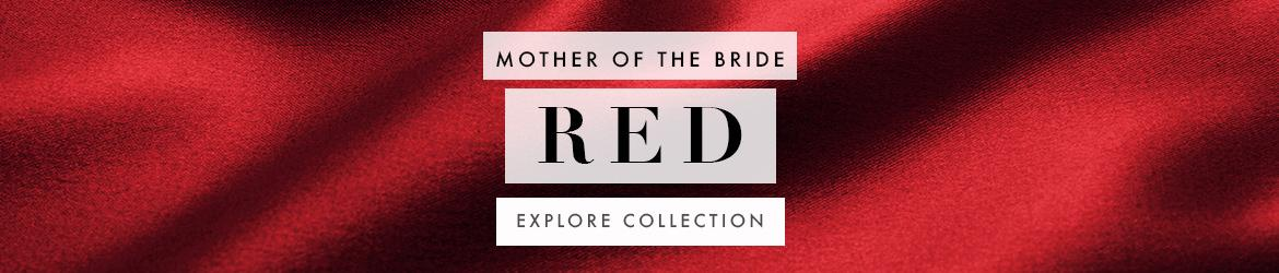 Picture of: Red and Burgundy Mother of the Bride Dresses
