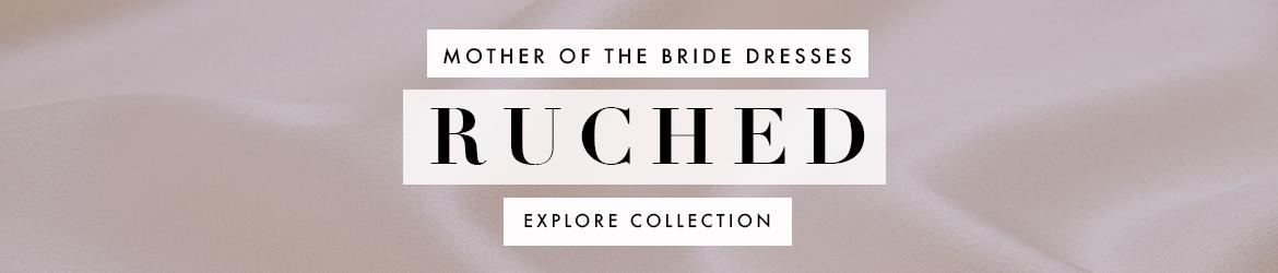 Picture of: Ruched Mother of the Bride Dresses