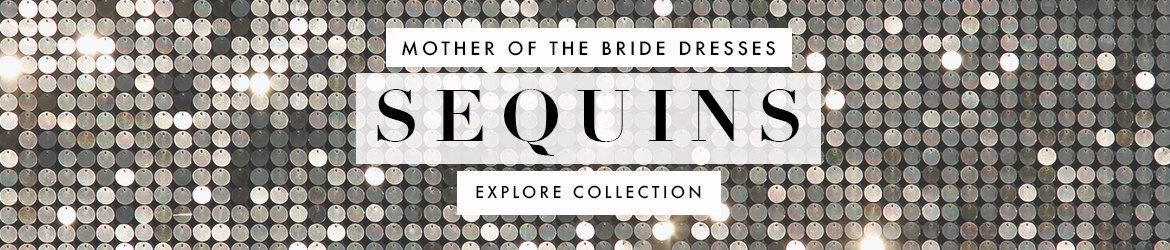 Picture of: Sequin Mother of the Bride Dresses
