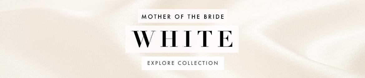Picture of: White Mother of the Bride Dresses