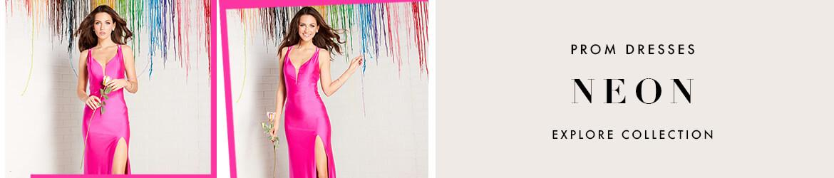 Picture of: Neon Prom Dresses