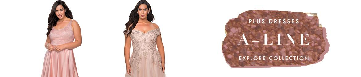 A-Line Plus Size Dresses