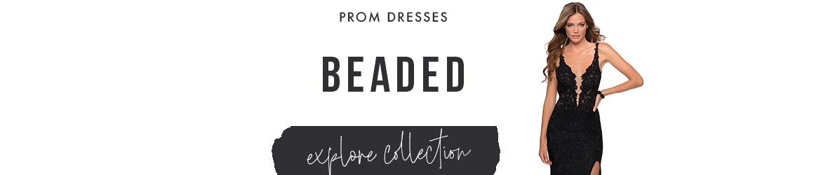 Picture of: Beaded Prom Dresses