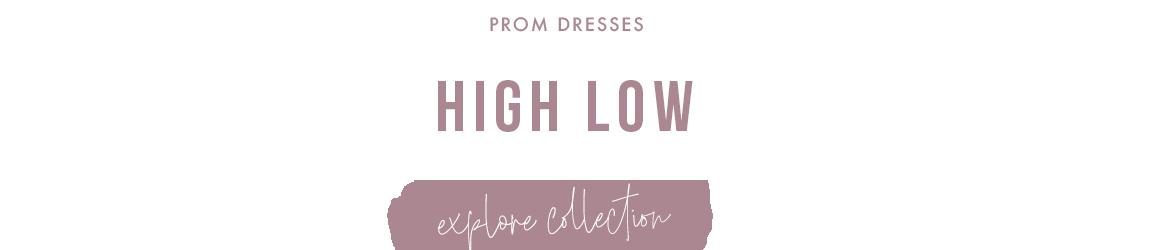 Picture of: High-Low Prom Dresses