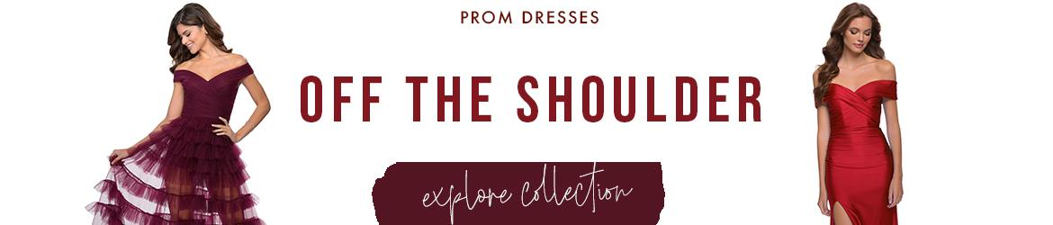 Picture of: Off the Shoulder Prom Dresses