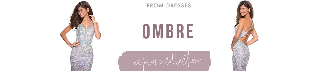 Picture of: Ombre Prom Dresses