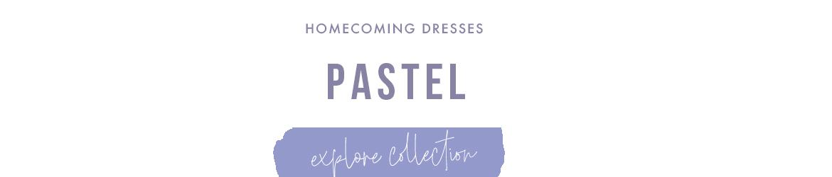 pastel homecoming dresses