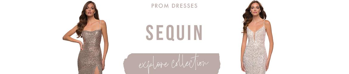 Picture of: Sequin Prom Dresses