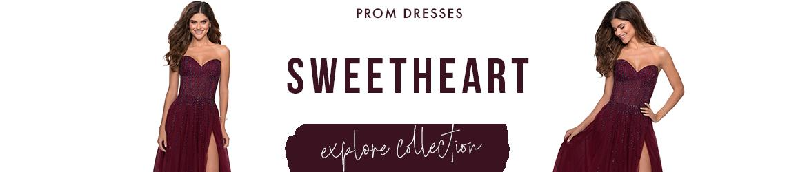 Picture of: Sweetheart Prom Dresses