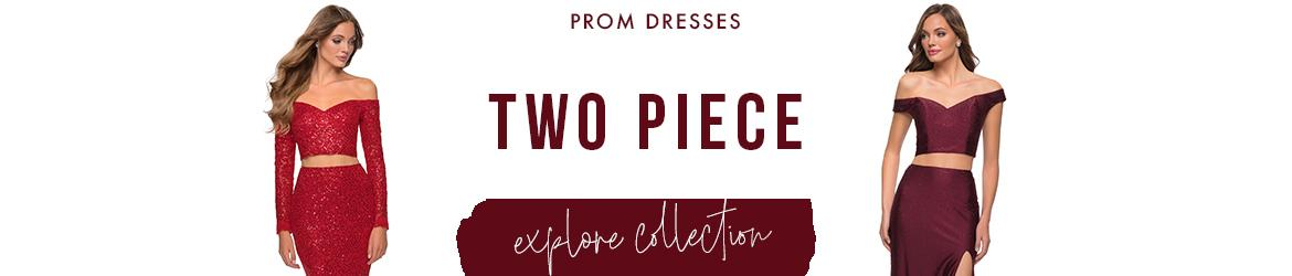 Picture of: Two Piece Prom Dresses and 2 Piece Prom Gowns