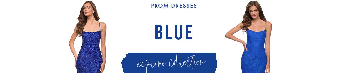 Picture of: Blue Prom Dresses