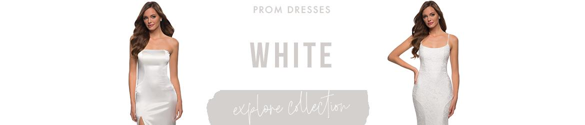 Picture of: White Prom Dresses