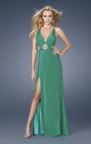 Picture of: Sexy Prom Dress with Side Cut Outs and Slit, Style: 15015, Main Picture
