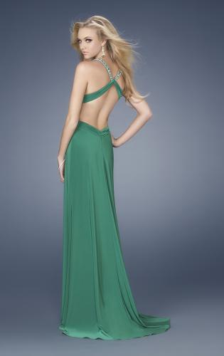 Picture of: Sexy Prom Dress with Side Cut Outs and Slit, Style: 15015, Back Picture