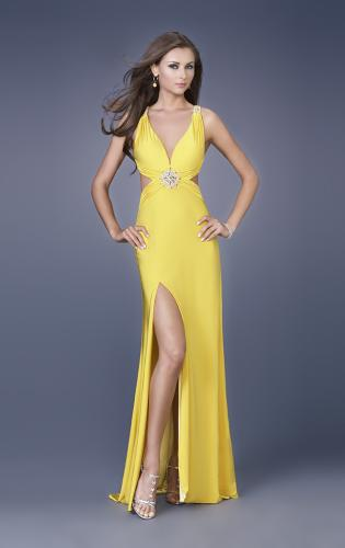 Picture of: Sexy Prom Dress with Side Cut Outs and Slit, Style: 15015, Detail Picture 1