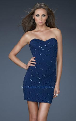 Picture of: Strapless Sweetheart Short Dress with Embellishments, Style: 16989, Main Picture