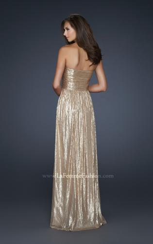 Picture of: All Over Sequined Prom Dress with Sweetheart Neckline, Style: 17085, Back Picture
