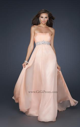 Picture of: Glam Long Prom Dress with Embellishments and Pleats, Style: 17656, Detail Picture 1