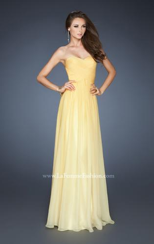 Picture of: Chiffon Prom Dress with Back Bow Detailing, Style: 18415, Detail Picture 2