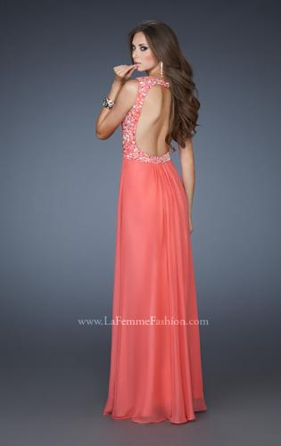 Picture of: A-line Beaded One Shoulder Dress with Ruching, Style: 18438, Main Picture