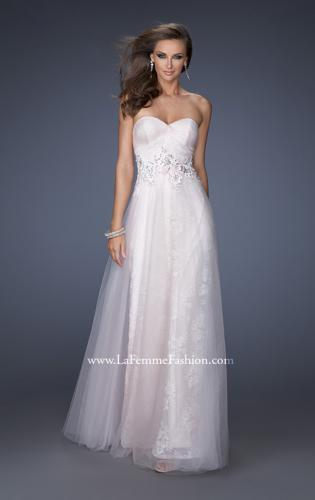 Picture of: A-line Prom Dress with Net Lining and Iridescent Stones, Style: 19968, Main Picture