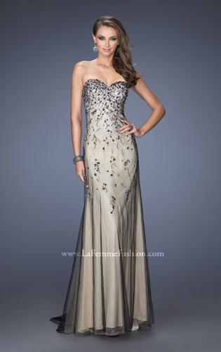 Picture of: Long Prom Dress with Beading and Jewels, Style: 20080, Main Picture