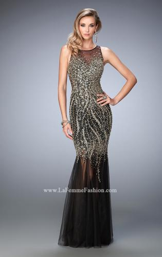 Picture of: Tulle Prom Dress with Sequins and Beading, Style: 22643, Main Picture