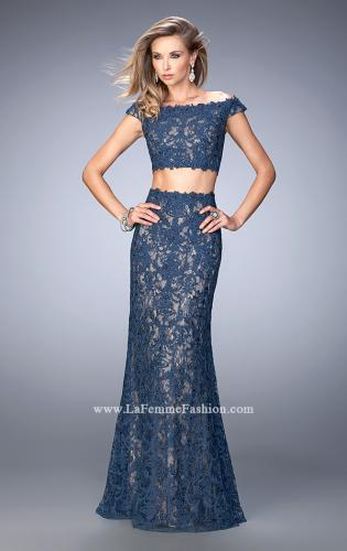 Picture of: Two Piece Off the Shoulder Embellished Prom Dress, Style: 22645, Main Picture