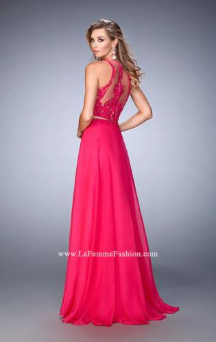 Picture of: Beaded and Embroidered Two Piece Prom Dress, Style: 22652, Back Picture
