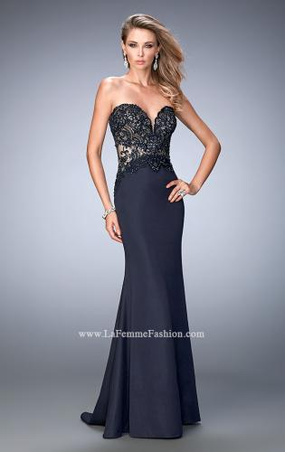 Picture of: Sweetheart Neckline Prom Dress with Train, Style: 22774, Main Picture