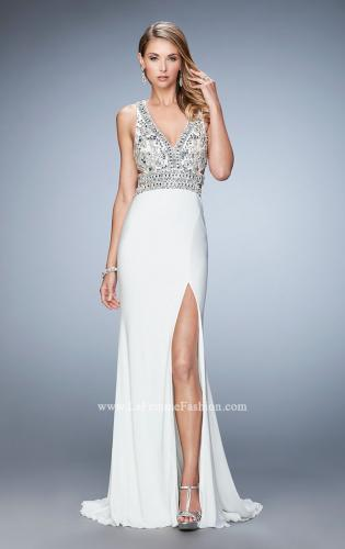 Picture of: Embellished Dress with Open Back and Train, Style: 22888, Detail Picture 1