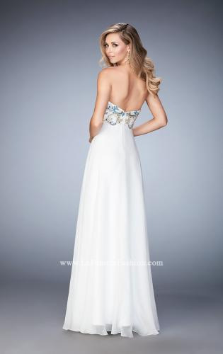 Picture of: Embellished Long Prom Dress with Sweetheart Neckline, Style: 22926, Back Picture