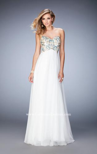 Picture of: Embellished Long Prom Dress with Sweetheart Neckline, Style: 22926, Detail Picture 1