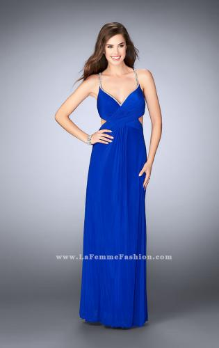 Picture of: Net Jersey Dress with Beaded Sweetheart Neckline, Style: 23988, Detail Picture 2