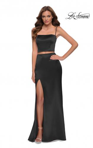 bridesmaid skirt 2 piece tulle and silk evening dress black and gold prom dress black tulle skirt