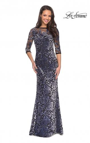 Velvet Mother Of The Bride Dresses La Femme