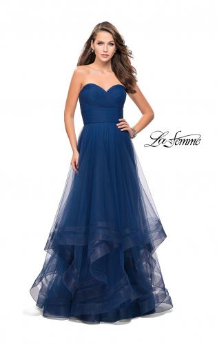 Picture of: Tulle Ball Gown with Sweetheart Neckline, Style: 25446, Main Picture